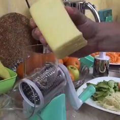 Get OFF Today!Multi-function Rotating Grater Vegetable Fruit Cutter - - Get OFF Today!Multi-function Rotating Grater Vegetable Fruit Cutter OFF Today! Cool Kitchen Gadgets, Kitchen Items, Cool Gadgets, Cool Kitchens, Baby Gadgets, Kitchen Art, Kitchen Utensils, Kids Gadgets, Iphone Gadgets