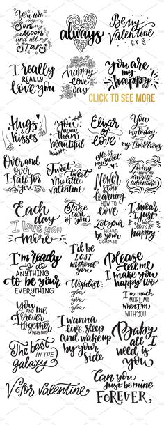 Giant lettering bundle about love ♥ by beauty drops on @creativemarket