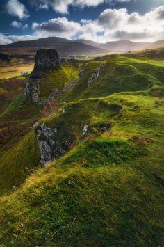Fairy Glen, Glen Uig, Uig, Trotternish, Isle of Skye, Scotland, UK by Ian Hex of LightSweep