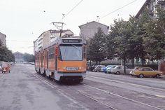 Trams de Milan (Italie)
