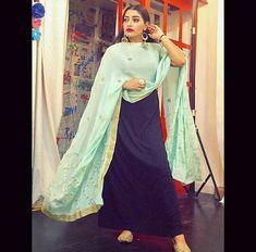 @AMAN❤ Indian Suits, Indian Wear, Ethnic Trends, Punjabi Models, Punjabi Salwar Suits, White Romper, Capes, Designers, Sari