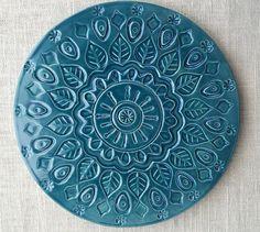 Handmade ceramic trivet/hot plate von artcrafthome auf Etsy