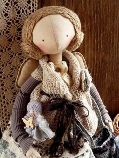 Купить Ключ от Счастья...Кукла Ангел в стиле Бохо... Авторская кукла - кукла ручной работы