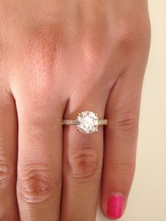 2.50 CT ROUND CUT D/SI1 DIAMOND SOLITAIRE ENGAGEMENT RING 14K GOLD