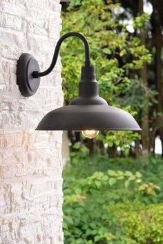 This unique outdoor lighting house is truly a notable style conception. Outdoor Hanging Lights, Outdoor Barn Lighting, Outdoor Wall Sconce, Exterior Lighting, Outdoor Walls, Home Lighting, Gooseneck Lighting Outdoor, Lighting Ideas, Lighting Store