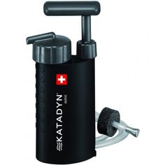 Katadyn Mini Ceramic Microfilter - Sized for the weight conscious, built for the apocalypse.