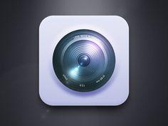 #Camera #Icon, #Free, #Graphic #Design, #iOS, #PSD, #Resource