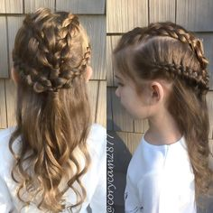 2 Dutch Braid Tiebacks. Game of Thrones inspired Look for @battleofthebraids group contest. ❤️ #gotbattlebraids #braid #gameofthroneshair #dutchbraid #instabraid #prettyhair #picoftheday #wednesday #schoolhair #hairfeed #longhair