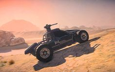 The new Harasser Buggy vehicle in Planetside 2. Play the game at http://www.devilsmmo.com/review/planetside-2