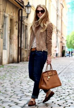 Lindex  Flats, Zara  Jeans and H&M  Shirt / Blouses