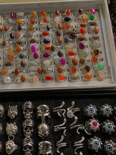Grunge Jewelry, Funky Jewelry, Hand Jewelry, Hippie Jewelry, I Love Jewelry, Jewelry Rings, Jewelery, Jewelry Accessories, Fantasy Jewelry