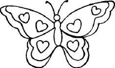 Recerca Google de dibuixos de papallones.