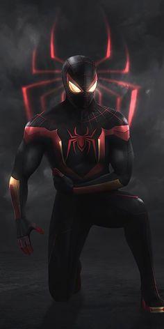 Spiderman Pictures, Black Spiderman, Spiderman Art, Amazing Spiderman, Noir Spiderman, Spiderman Drawing, Marvel Avengers, Iron Man Avengers, Marvel Art