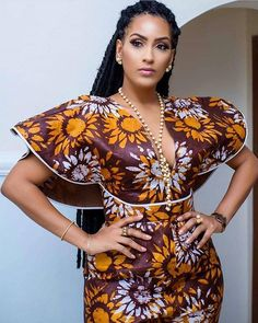 How to Rock Out In Ankara Dungarees - Sisi Couture Short African Dresses, Latest African Fashion Dresses, African Print Dresses, African Print Fashion, Africa Fashion, Ankara Fashion, African Prints, African Fabric, African American Fashion