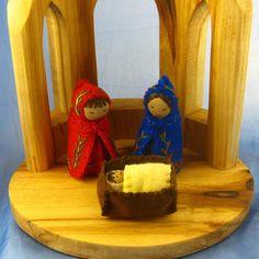Mini Nativity Doll Set by Farida Dowler