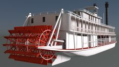 I'm modelling this Green River steamboat, the Chaperon. Have a look at my work-in-progress tumblr.