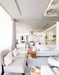 Neutrals Go Glam in This Spectacular Lisbon Home via @MyDomaine