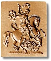 st george cookie mold