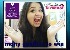 Hey guys! Sharing my love for you by hosting a GIVEAWAY on my YouTube channel. Check out the video to enter:https://youtu.be/7xIDbFPjXhg  #hercreativepalace #kanikasharma #giveaway #newvideouploaded #youtuber #delhi #india #enterthegiveaway #giveawayreturns #hostingagiveaway #like #share #comment #subscribe #thankyou #forallthelove #indian