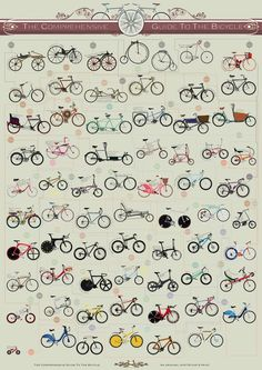 Chart: A Comprehensive Guide To The Evolution Of The Bicycle - DesignTAXI.com