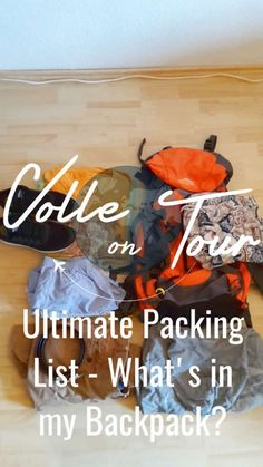 My Ultimate Packing List is finally out!  Check it out. Everything you need to know and have for any trip in this world!  #travel #traveler #travellover #travelto #traveltip #traveltips #travels #tip #tips #list #packing #howtopack #whattopack #backpacker #backpacking #wanderlust