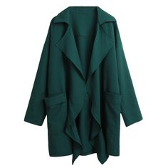 60941a076188f 2017 Autumn Women Trench Coat Pocket Long Sleeve Casual Cardigan Loose  Outerwear Casual Fashion 5XL Plus Size Long Windbreaker-in Trench from  Women s ...
