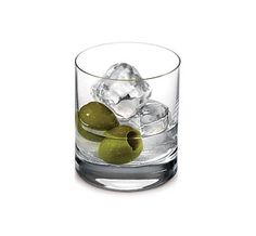 50 ml Ketel One Vodka  1.25 oz. olive brine  3 olives  Stir with ice in cocktail shaker. Strain into a rocks glass over ice. Garnish with 3 olives.