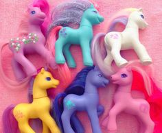 My Little Pony | 49 Toys Every Australian '90s Girl Wanted For Her Birthday - I'm pretty sure this is just every 90's girl, not just Australia, though i don't remember 48.