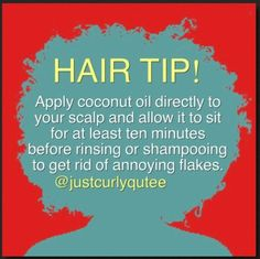 I cannot express just how good my scalp feels ever since I do a coconut oil and castor oil massage twice a week! It's relaxing and no itch.