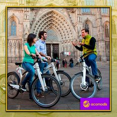 Barcelona has a wide variety of urban routes to discover by bicycle, you can get to know the city in a healthy and original way. Join us!