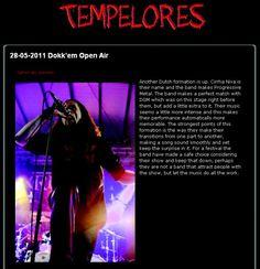 "Tempelores Webzine ""Memorable"""