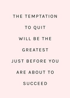 you will succeed, keep on going, inspirational quote