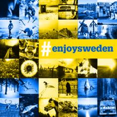 #enjoysweden är ett pågående fotoprojekt i Instagram med svenska folkets bästa sverigebilder. Projektet har resulterat i en fotobok och en vandringsutställning som visats både inom Sverige, men även nationellt, i samarbete med Svenska Institutet bl.a.