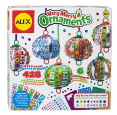 ALEX Toys - Craft, Very Merry Ornaments, 189X Alex Toys http://www.amazon.com/dp/B006WCN7D2/ref=cm_sw_r_pi_dp_INZJub07P3N7V