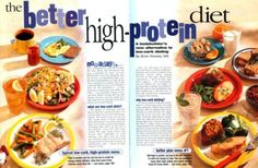 A high-protein diet is often recommended by bodybuilders and nutritionists to help efforts to build muscle and lose fat. Protein Diets, High Protein, Low Carbohydrate Diet, Diet Foods, Lose Fat, Build Muscle, Diet Recipes, Weight Loss, Ethnic Recipes