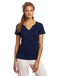 Nautica Sleepwear Women's Split Neck Tee « Clothing Impulse