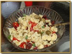 Cooking with Cathy's Recipes: Pasta Salad with Basil Dressing