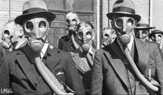 vintage gas mask photography - Google Search