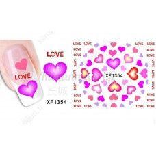 Sydän kynsitarrat