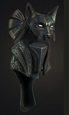 Новости Egyptian Mythology, Egyptian Goddess, Egyptian Art, Ancient Aliens, Ancient Egypt, Armor Concept, Concept Art, Bastet Goddess, Fantasy Armor