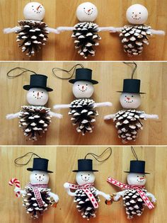 Christmas Ornament Crafts, Christmas Crafts For Kids, Diy Christmas Gifts, Christmas Projects, Holiday Crafts, Christmas Decorations, Thanksgiving Crafts, Christmas Ideas, Christmas Tree