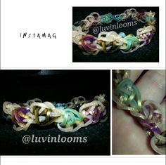 Up & Down Bracelet. Visit Facebook Luvinlooms Fancy Bracelets and Accessories Or Luvinlooms@gmail.com to purchase!