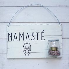 Candil Piedras - Namasté en internet Decor Crafts, Diy And Crafts, Pallet Wall Art, Pretty Fonts, Home Decor Quotes, Meditation Space, Room Tour, Flower Images, Decoupage