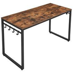 Rustic Computer Desk, Wood Desk, Rustic Office Desk, Wholesale Furniture, Furniture Sale, Furniture Decor, Bureau Design, Industrial Farmhouse, Industrial Style