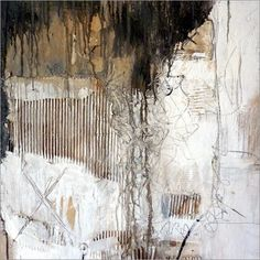 Christin Lamade – abstrakt - My CMS Collage Kunst, Collage Art Mixed Media, Abstract Expressionism, Abstract Art, Encaustic Art, Texture Painting, White Art, Canvas Art, Art Prints