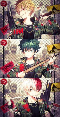 - Boku no Hero Academia -