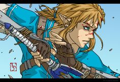 legend of zelda breath of the wild fanart ゼルダの伝説 Breath Of The Wild, Link Botw, Evil Demons, Legend Of Zelda Breath, Nintendo, Twilight Princess, Small Art, Fantasy, Film