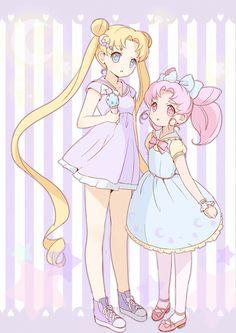 Moon & Chibi Moon
