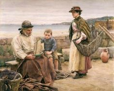 walter langley   view larger image birmingham museums and art gallery