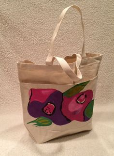 The Abstract Rose Tote by TheArtsyNina on Etsy